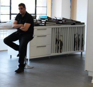 Shlomo Meoded, business owner, Meoded paint and plaster