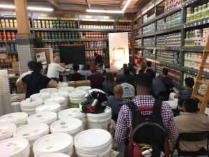 Decorative Paint and Plaster Class