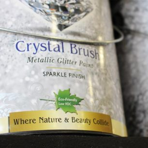Eco-Friendly Glitter Paint