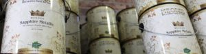 meoded metallic paint cans