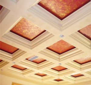 faux painted ceiling