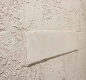 faux brick stone
