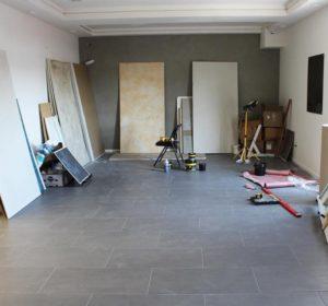 Decorative Paint and Plaster interior design showroom