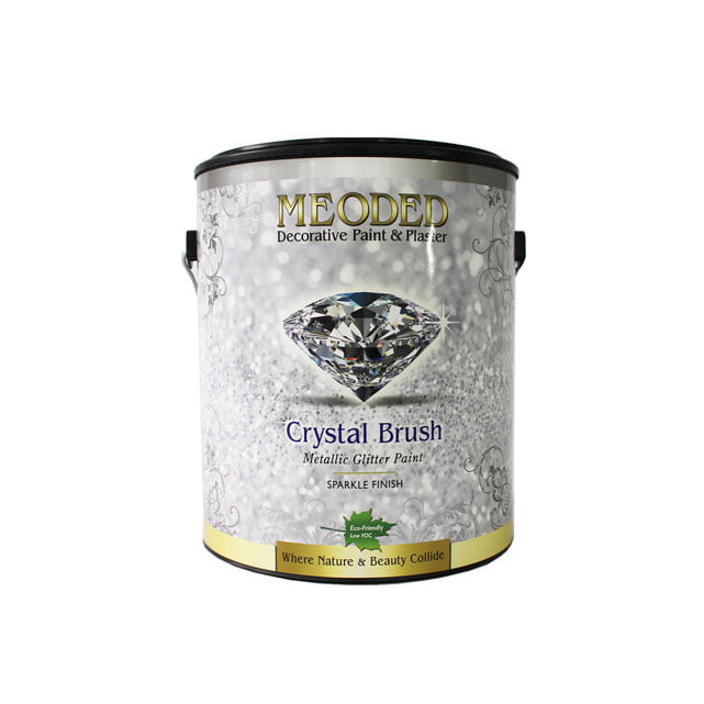 Crystal Brush Glitter Paint Meoded Paint And Plaster