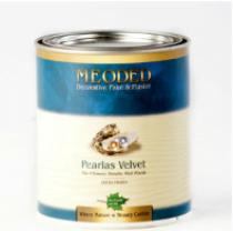Pearlas Velvet Base Coat Decorative Suede Paint