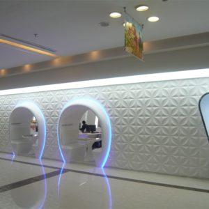 3D-wall panels