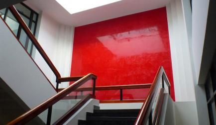 Red Venetian Plaster, Stucco Lamundo