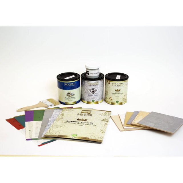 Decorative Paint Trial Kit, Meoded Paint & Plaster