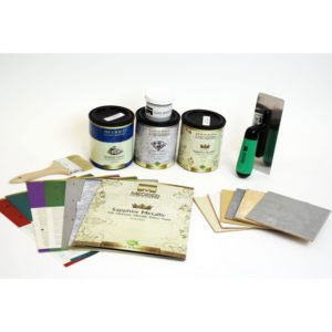 Decorative Paint Trial Kit with Tools, Meoded Paint & Plaster