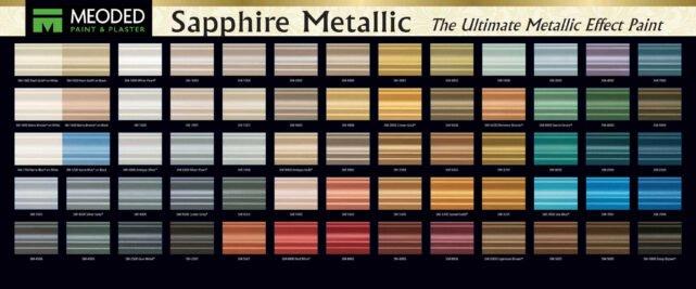 Sapphire Metallic Paint