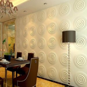 3D Wall Panels Meoded Paint and Plaster (3)