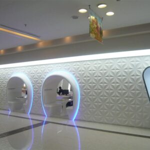 White 3D Wall Panels