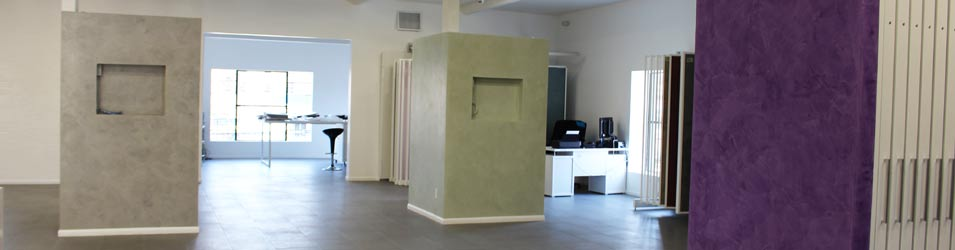 Interior Design Showroom - Meoded Paint and Plaster